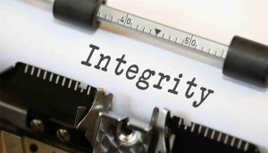 There is Something About Integrity...